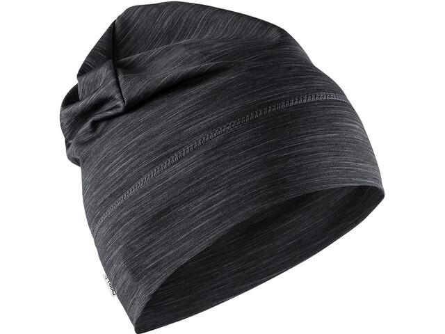 Craft Melange Jersey High Hat black melange